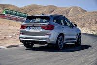 2020 BMW X3 M rear view, gallery_worthy