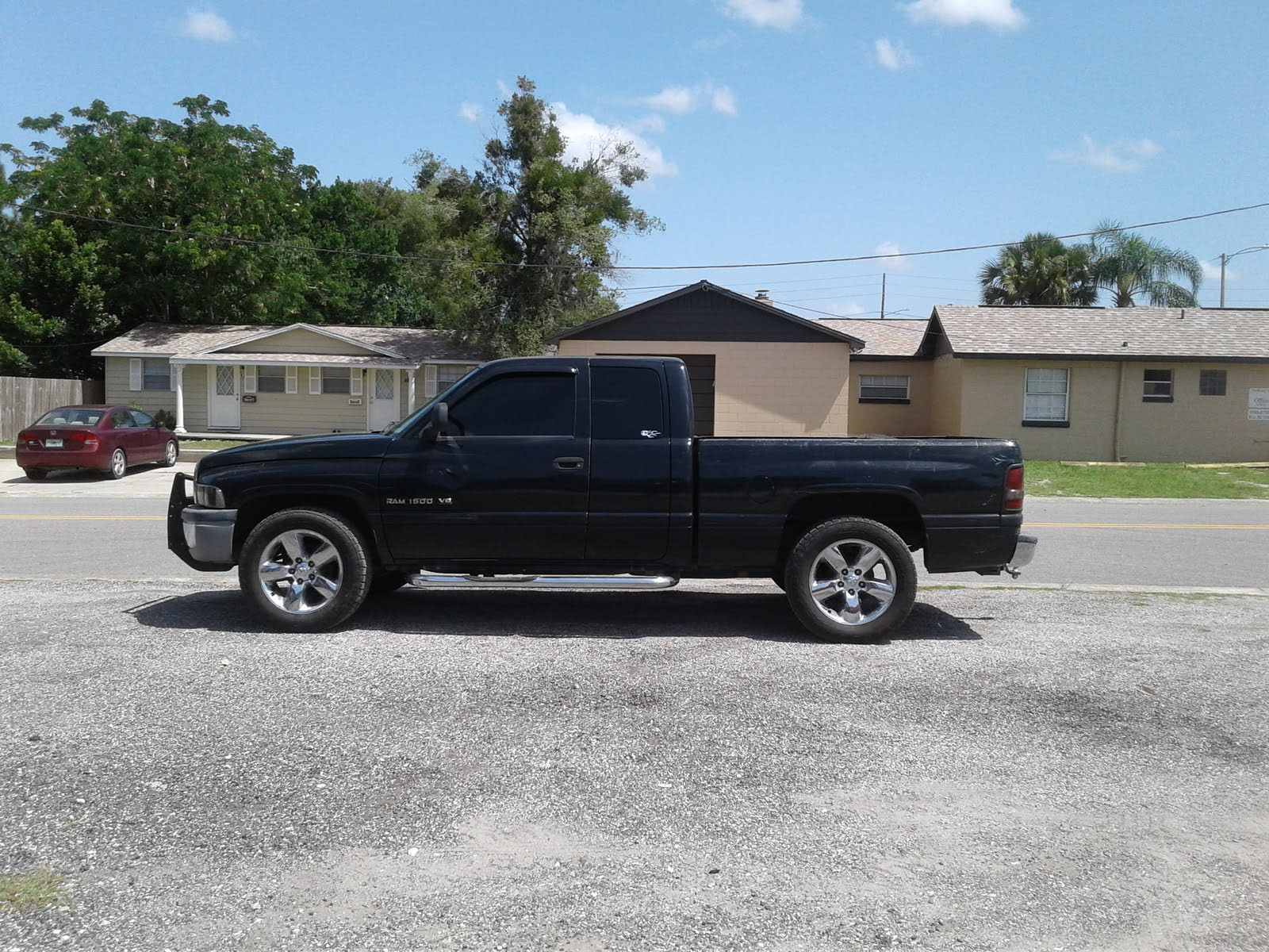 Dodge Ram 1500 Questions Whats The Biggest Tire I Can Put On My 96 Ram 1500 Sport 4x4 Cargurus