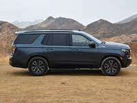 2021 Chevrolet Tahoe Z71 Shadow Gray Side View, gallery_worthy