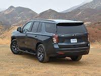 2021 Chevrolet Tahoe Z71 Shadow Gray Rear View, gallery_worthy