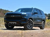 2021 Chevrolet Tahoe Z71 Shadow Gray Front View, gallery_worthy