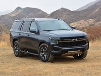 2021 Chevrolet Tahoe Z71 Shadow Gray Front View, exterior, gallery_worthy