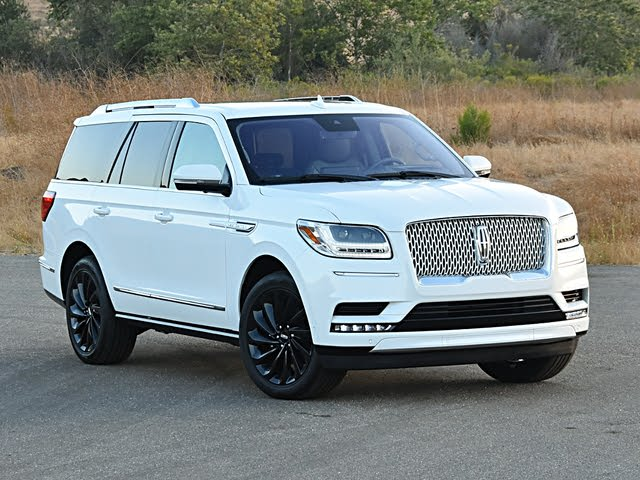 2020 Lincoln Navigator Reserve Front View