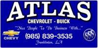 Atlas Chevrolet Buick logo