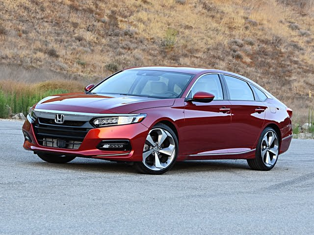 2020 Honda Accord Touring Front View