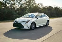 2021 Toyota Corolla Hybrid Picture Gallery