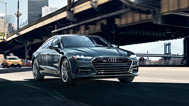2021 Audi A7 front-quarter view, exterior, manufacturer, gallery_worthy