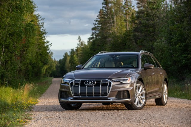 2021 Audi A6 Allroad front-quarter view, exterior, manufacturer, gallery_worthy
