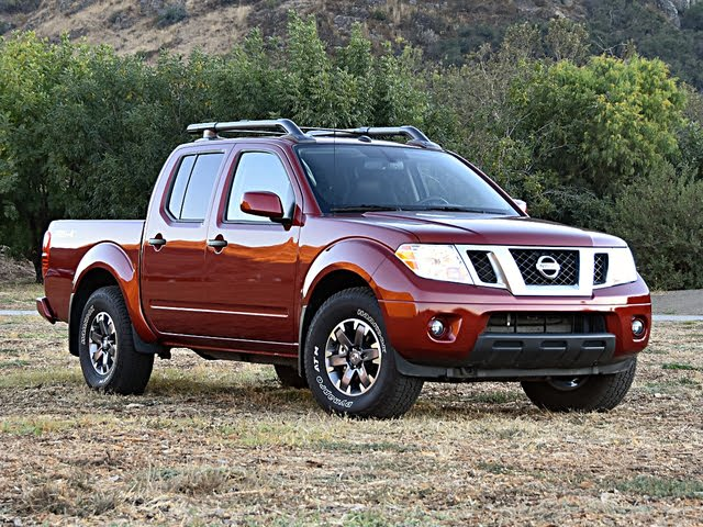 2020 Nissan Frontier PRO-4X Front View, exterior, gallery_worthy
