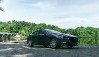 2020 Mazda MAZDA3, 2020 Mazda3 Premium AWD front-quarter view, gallery_worthy