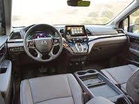 2021 Honda Odyssey Elite Dashboard Mocha Leather, gallery_worthy