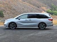 2021 Honda Odyssey Elite Lunar Silver Side View, gallery_worthy