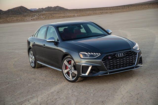 2020 Audi S4 front-quarter view