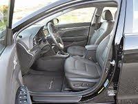 2020 Hyundai Elantra Limited Front Seats, interior, gallery_worthy