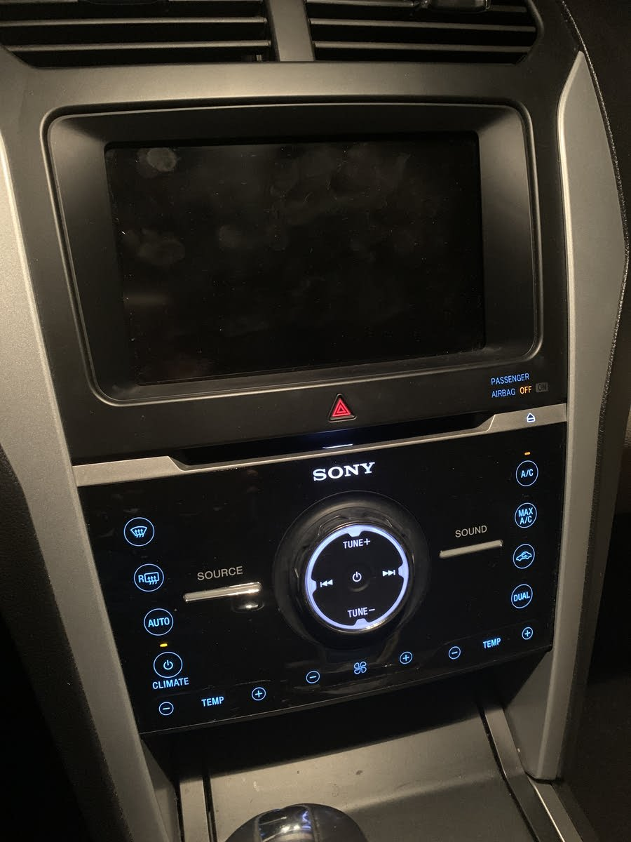 Ford Fusion Questions Display Screen Radio Will Not Turn On Cargurus