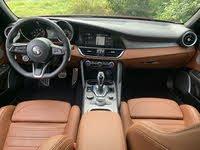 Dash area of the 2020 Alfa Romeo Giulia, interior, gallery_worthy