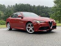 Front 3/4 profile of the 2020 Alfa Romeo Giulia, exterior, gallery_worthy
