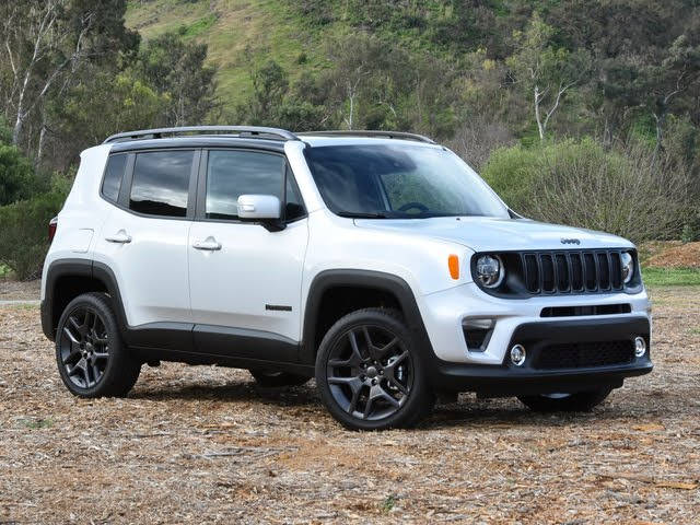 2020 Jeep Renegade High Altitude Front Quarter View