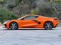 2020 Chevrolet Corvette Stingray Coupe Z51 Sebring Orange Side View, gallery_worthy
