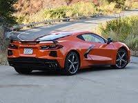 2020 Chevrolet Corvette Stingray Coupe Z51 Sebring Orange Rear View, gallery_worthy