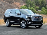 2021 GMC Yukon Denali Front-Quarter View, exterior, gallery_worthy