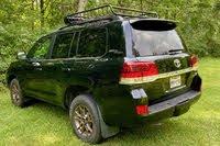 2020 Toyota Land Cruiser rear three quarter, exterior, gallery_worthy