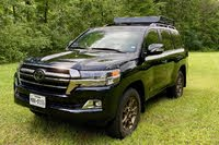2020 Toyota Land Cruiser front three quarter, exterior, gallery_worthy