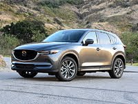 2020 Mazda CX-5 front three quarter, exterior, gallery_worthy