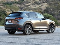 2020 Mazda CX-5 rear three quarter, exterior, gallery_worthy