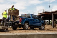 2020 Ford F-250 Super Duty rear three quarter, exterior, manufacturer, gallery_worthy