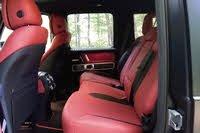 2020 Mercedes-Benz G-Class, 2020 Mercedes-Benz G550 rear seats, interior, gallery_worthy