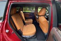 2020 Toyota Highlander Hybrid second-row seats, interior, gallery_worthy