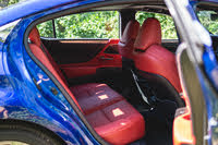 2020 Lexus ES 350 F Sport back seat, gallery_worthy