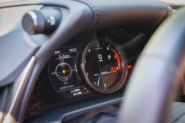 2020 Lexus ES 350 F Sport driver display, gallery_worthy