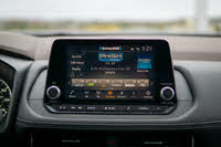 2021 Nissan Rogue infotainment screen, gallery_worthy