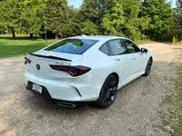 2021 Acura TLX rear-quarter view, gallery_worthy