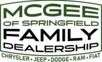 McGee Chrysler Dodge Jeep Ram Fiat logo