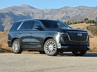 2021 Cadillac Escalade front-quarter view, exterior, gallery_worthy