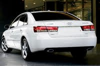 2008 Hyundai Sonata rear three quarter, exterior, manufacturer, gallery_worthy