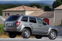 2007 Jeep Grand Cherokee rear three quarter, exterior, manufacturer, gallery_worthy