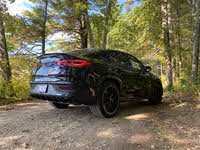 2021 Mercedes-Benz GLE-Class Coupe rear-quarter view, gallery_worthy