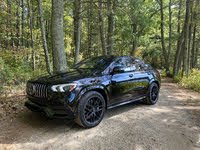 2021 Mercedes-Benz GLE-Class Coupe front-quarter view, gallery_worthy
