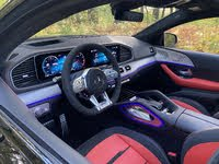 2021 Mercedes-Benz GLE-Class Coupe interior view, gallery_worthy