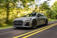 2021 Audi RS 6 Avant action, exterior, manufacturer, gallery_worthy