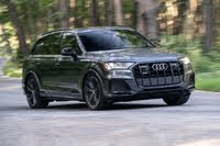 2021 Audi SQ7 action, exterior, manufacturer, gallery_worthy