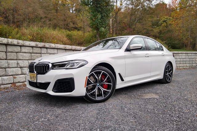 2021 BMW 5 Series thumbnail