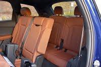2020 Audi Q7 third-row seats, interior, gallery_worthy