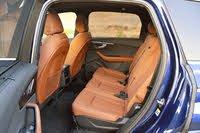 2020 Audi Q7 second-row seats, interior, gallery_worthy