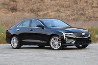 2020 Cadillac CT4 front three quarter, exterior, gallery_worthy