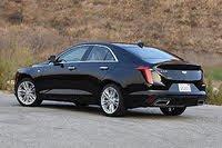 2020 Cadillac CT4 rear three quarter, interior, gallery_worthy